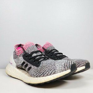 Adidas Ultra Boost X Shock Pink Breast Cancer Knit